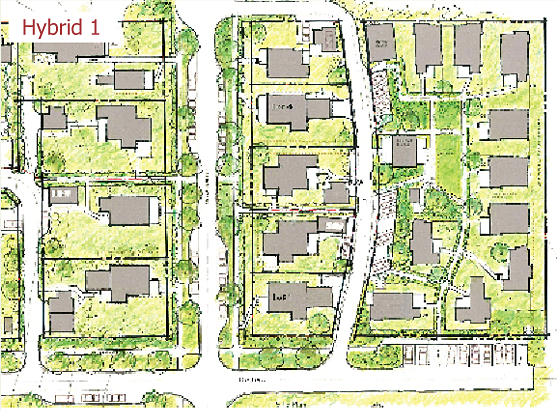 Pocket neighborhoods creating small scale community in a for Best site for house plans